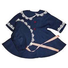 "HTF Factory Ideal 22"" Saucy Walker Coat and Bonnet"