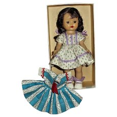 Vintage Nancy Ann SLW MUFFIE In Box With Outfit and Extra Dress
