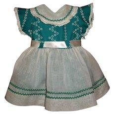"Vintage Ideal 22"" HP Saucy Walker Dress"