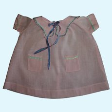 Vintage 1920s Tagged Horsman Composition or Momma Doll Dress