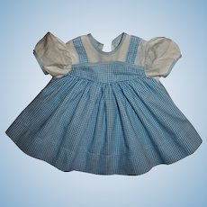 Wizard of Oz Dorothy Dress For Composition Dolls