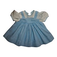 Wizard of Oz Dorothy Style Dress For Composition Dolls