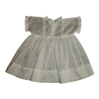 Vintage Tagged Madame Hendren Composition  or Compo/Cloth Doll Dress & Slip