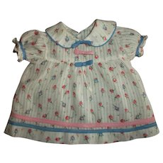 Sweet Vintage Pink And Blue Rosebud Dimity Dress For Your Composition Shirley Types