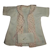 "Effanbee 11"" Dy-Dee Robe With RARE Factory Belly Band"