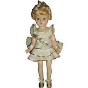 "Vintage Composition Effanbee 12"" Ballerina Portrait Doll"