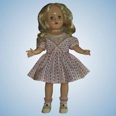"Vintage 14"" Ideal P-90 Platinum Blonde Toni Doll"