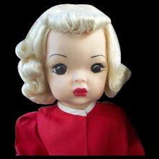 Vintage Platinum Blonde Terri Lee With Robe & Slippers