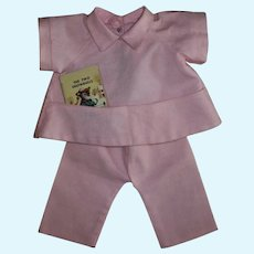 Cute Corduroy Play Outfit With Doll Sized Golden Book