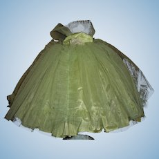 Gorgeous Vintage Tagged Terri Lee Strapless Tulle~Taffeta Formal With Original Box