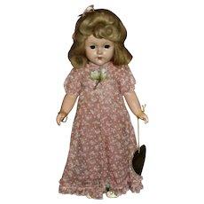 HTF All Original Composition Effanbee MAGIC HANDS Little Lady Ann Shirley