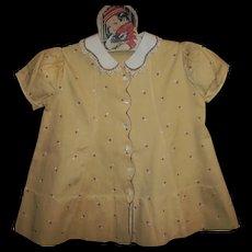 Vintage 1930's Tagged Dionne Quintuplet~Child Dress