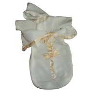 Effanbee Dy-Dee Doll Eiderdown Bunting With Attached Hooded Jacket