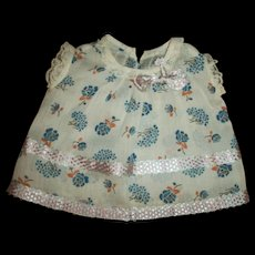 Vintage Tagged Madame Hendren Patsy Type Doll Dress