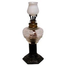 19th Century Miniature Oil Lamp - Little Crown