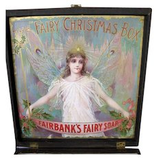 Christmas Fairy Soap Box Store Counter Display