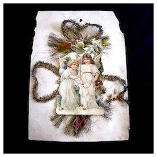 Angels Die Cut Scrap - J. Bacon & Sons Ad