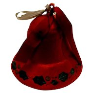 Christmas Bell Candy Container and Ornament
