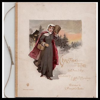 Christmas Tide - Exquisite Prang Gift Book 1889