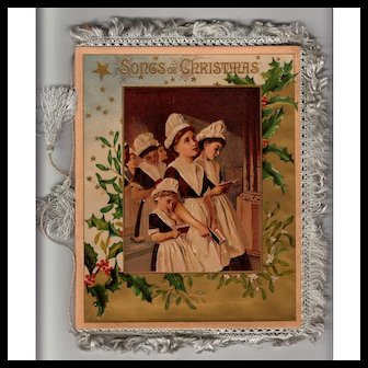 Songs of Christmas Book - Havergal - Fringed Covers