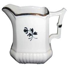Copper Luster Tea Leaf Creamer - Red Cliff
