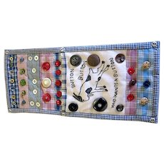 Charming Button Bag For Your Antique Buttons