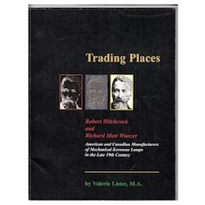 Trading Places Book by Lister - Mechanical Oil Lamps