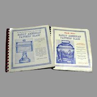 Early American Pattern Glass Books - 2 volumes - Metz