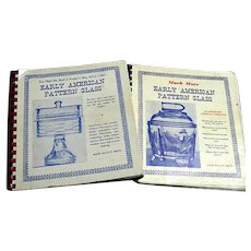 Early American Pattern Glass Books - 2 volumes - Metz