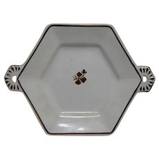 Tea Leaf Ironstone Anthony Shaw Hexagon Cookie or Serving Plate