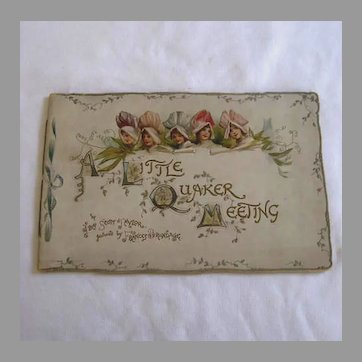 A Little Quaker Meeting Book - Frances Brundage Illustrations