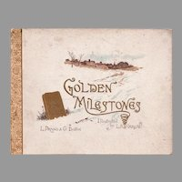 Golden Milestones Book - Harlow Illustrator - Prang 1888