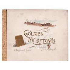 Golden Milestones Book - Harlow Illustrator - Prang 1888