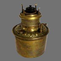 Meriden Bronze Oil Lamp Font - Unique Flame Spreader