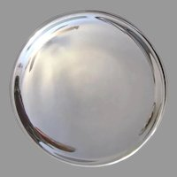 Old Mercury Reflector for Oil Lamp Lantern