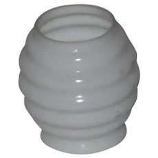 Beehive Chimney Shade for Miniature Oil Lamp