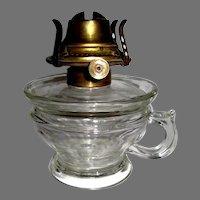 Lomax 1870 Oil Guard Finger Lamp With Burner