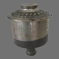 Oil Lamp Font for an Angle Lamp