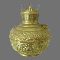 Miller New Juno Font For Bracket or Hanging Oil Lamp