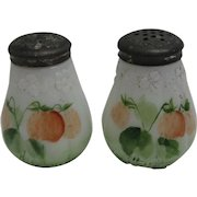 Mt. Washington / Pairpoint Strawberry Salt & Pepper Shakers