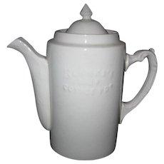 Advertising Coffee Pot - Blanke's Coffee - St. Louis