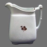 Tea Leaf Ironstone Daisy 'n Chain Pitcher