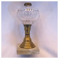 Civil War Era Early Oil Lamp