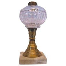 Civil War Era Early Oil Lamp