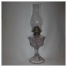 Duncan Quartered Block Oil Lamp