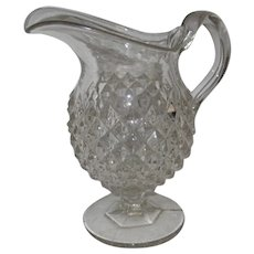 19th Century EAPG Sawtooth Creamer