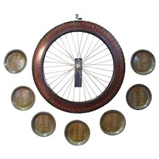 Antique Carnival Game Wheel of Chance Yacht  Ship Theme