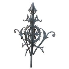 Antique Cast Iron Roof Finial