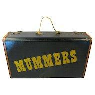 Vintage Mummers Suitcase