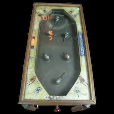 Vintage Ice Hockey Table Game Trade Stimulator Coin-Op